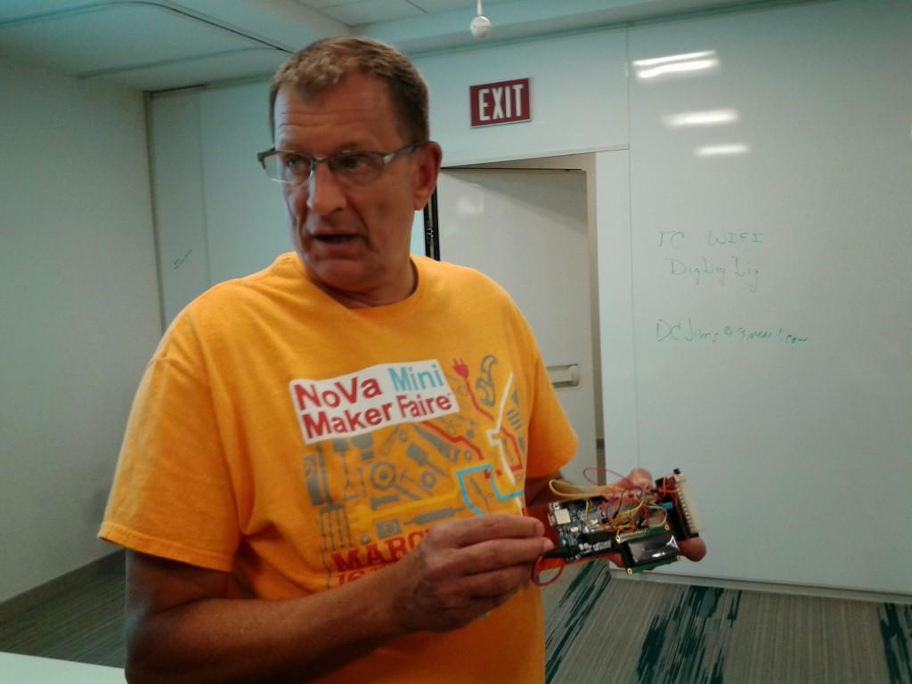 Capital One Labs Sponsors Nova Labs' Arduino Class