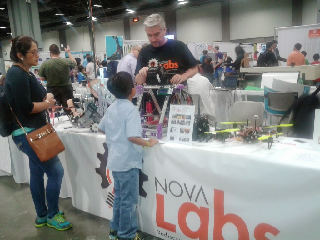 Nova Labs Represents Makerspaces at The U.S. Science and Engineering Festival