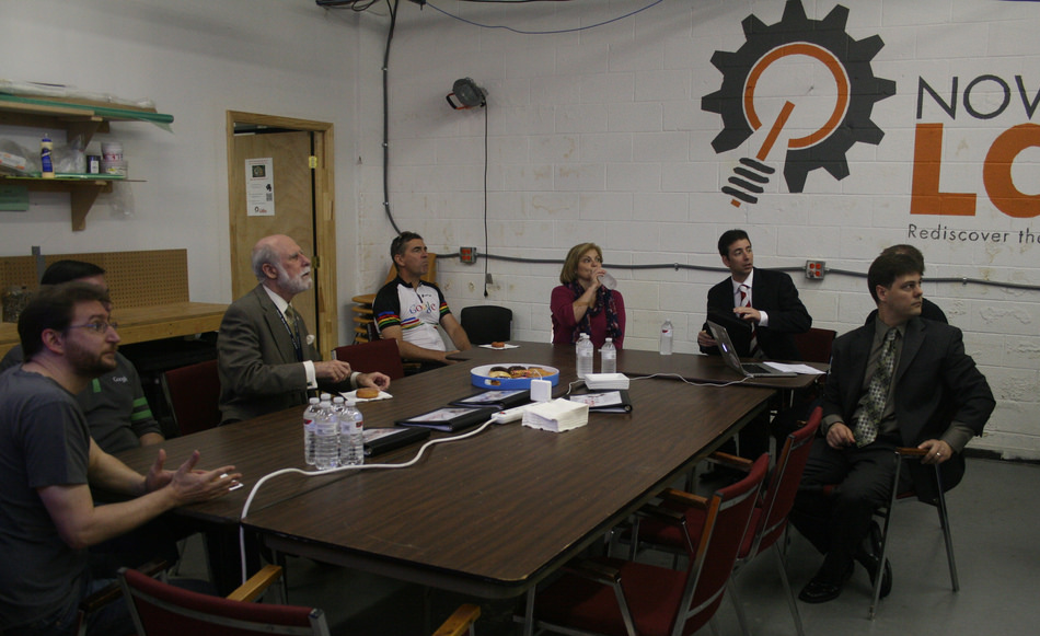 "Vint Cerf, ""Father of the Internet"" and Google's Internet Evangelist, Visits Nova Labs"