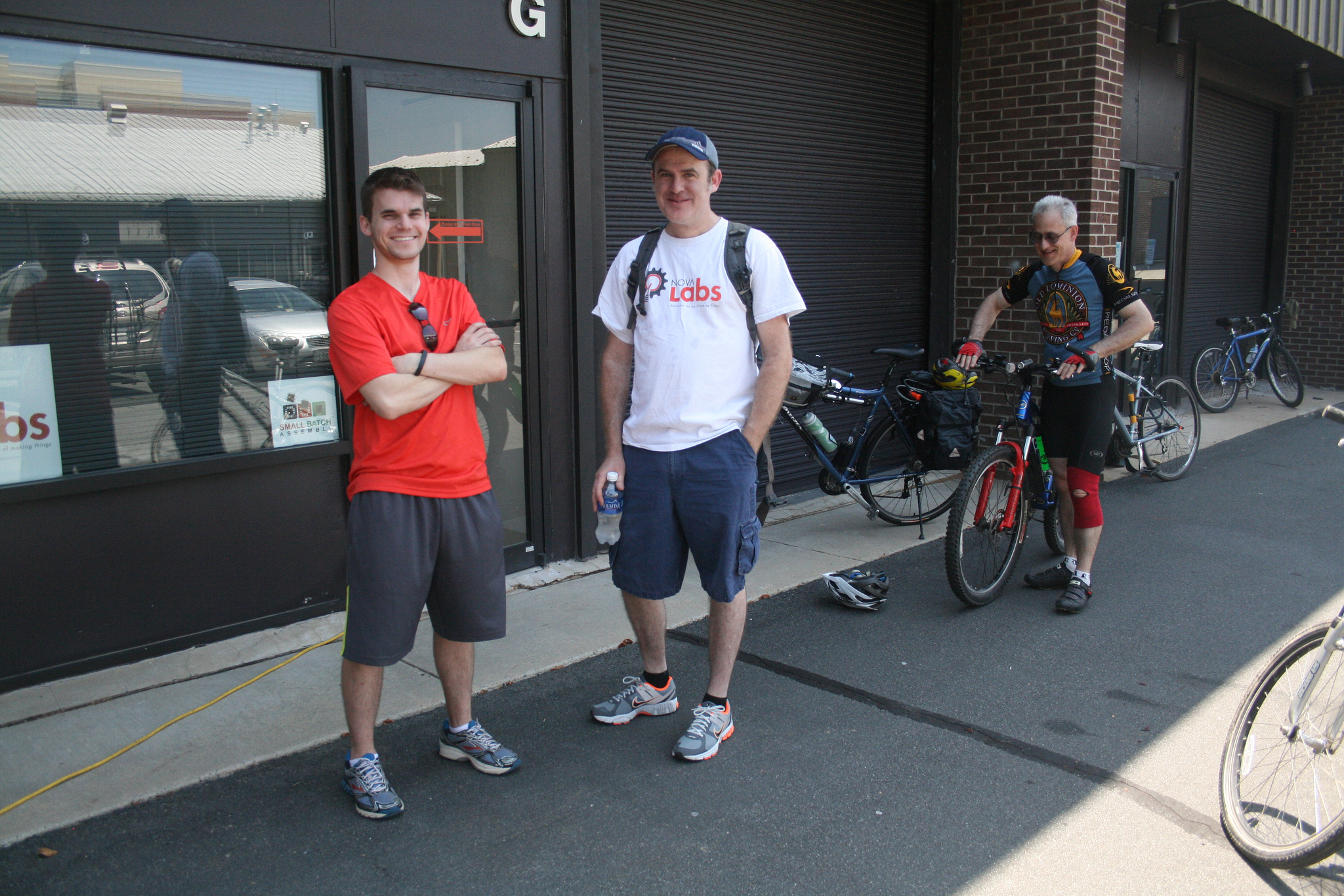 Bike Riders Enjoy Great Weather, Fun Games at the 1st Annual Nova Labs UAV Team Fundraiser