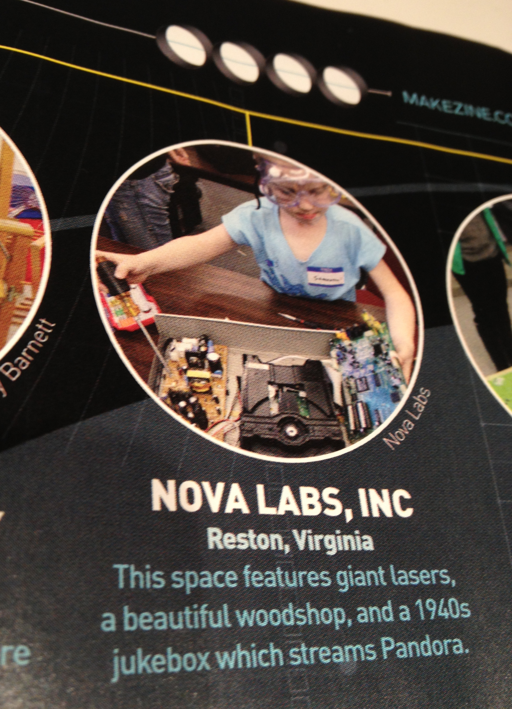 "Nova Labs Named to List of ""Most Interesting Makerspaces in America"""