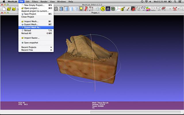 Sense 3D Scanner