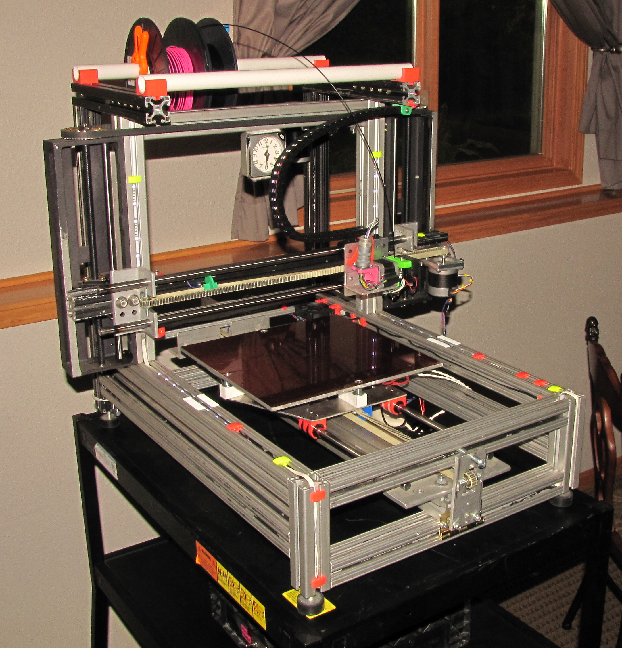 The never-ending 3D printer project