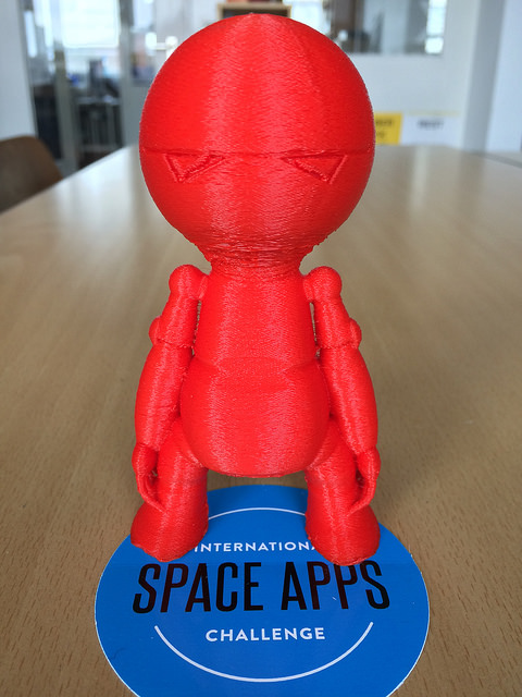 The NASA Space Apps Stuttgart 2015 Hackathon winner BigWhoop is a finalist for the NASA Global People's Choice Award!