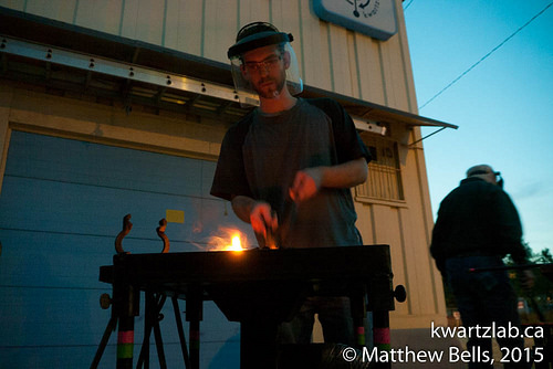 Blacksmithing workshop