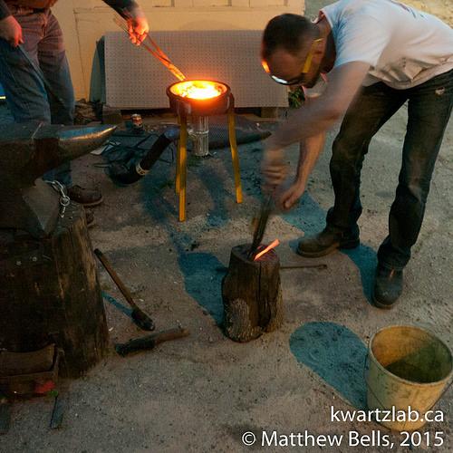 Blacksmithing workshop