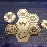Lasersaur, Android Netrunner & laser cut tokens…