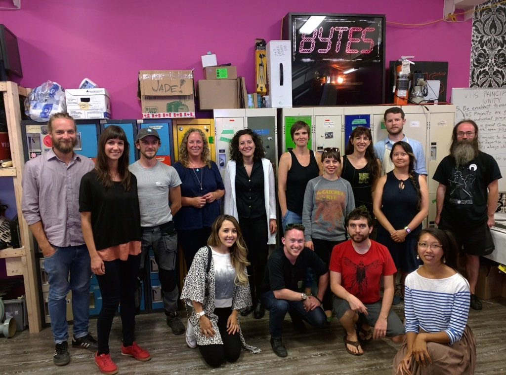 Photos from the #The100DayProject Vancouver Global Meetup