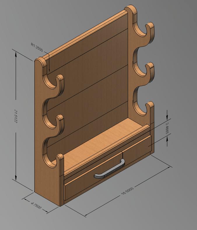Member build: Gunrack!