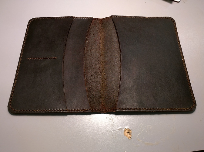 Workshop: Leather and Lasers – Passport Wallet, November 22nd Noon-5pm